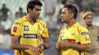 It was like a slap when ravichandran ashwin was removed from csk team after two matches 4012319