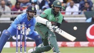 COVID-19 Outbreak: Shakib Al Hasan to Auction 2019 World Cup Bat to Raise Funds For Needy