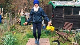Meet 73-Year-Old 'Skipping Sikh' Who is Raising Funds For British NHS And Inspiring Others