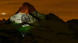 Matterhorn in Swiss Alps Lit up With Indian Tricolour, Sends Message of Hope Amid COVID-19 Crisis