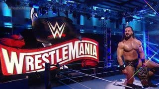 WWE WrestleMania 36, Day 2 Full Results: Drew McIntyre Overcomes Brock Lesnar To Win WWE Championship