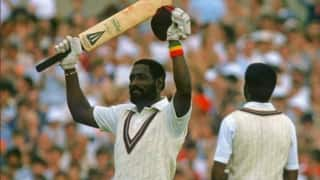 On this day west indies legend vivian richards smashed a 56 ball hundred in a test match at antigua in 1984 4000577
