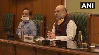 Amit Shah Meets Delhi CM Kejriwal to Review Situation,
