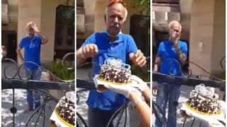 Trending News Today April 28, 2020: Sweetest Gesture! Elderly Man Bursts into Tears As Haryana Cops Surprise Him With a Birthday Cake | Watch