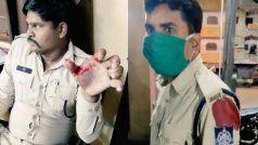 भोपाल में हिस्ट्रीशीटरों समेत उपद्रवियों की भीड़ ने पुलिस पर किया हमला