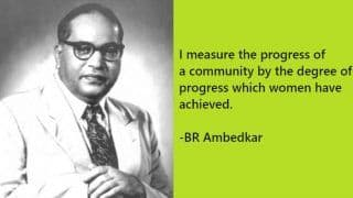 Amedkar Jayanti 2020: Top Quotes by BR Ambedkar on His 129th Birth Anniversary