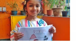 Moved By Migrant Workers' Plight, 5-Year-Old Girl Sells Self-llustrated Book Online to Raise Funds