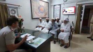 तबलीगी कांड: SHO की नसीहत को अनसुना करने से दिल्ली में हुआ कोरोना का विस्फोट, Video जारी