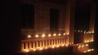 At 9 PM For 9 Minutes, Candles Burn Bright as People Turn Off Lights, Unite to Fight Coronavirus Together
