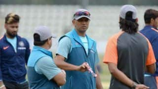Rahul dravid started a new initiative coach ravi shastris team will share their experiences with nca 4015752