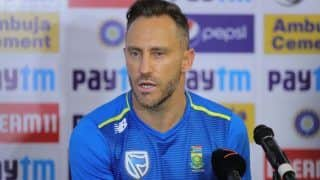 South Africa Yet to Decide on Faf du Plessis' Successor as Test Captain