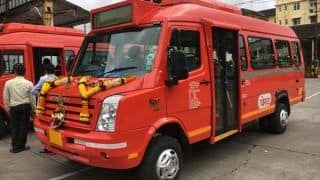 BEST Mini Buses in Mumbai Converted Into Ambulances To Ferry Coronavirus Patients