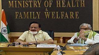 हेल्थ वर्कर्स के कोरोना संक्रमित होने पर केंद्रीय सवास्थ्य मंत्री डॉ. हर्षवर्धन ने जताई चिंता, बोले- इसे रोकना होगा