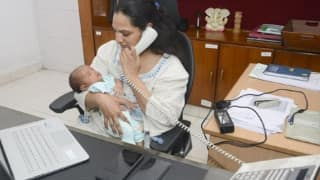 With Month-old Baby in Arms, This Andhra Pradesh IAS Officer Winning Everyone's Heart: Here's Why
