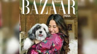 Khushi Kapoor Clicks This Fabulous Magazine Cover Featuring Janhvi And Her Cute Dog