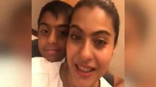 Kajol is Busy Knitting For Son Yug Amid Lockdown, Says 'Thank God he is Small'