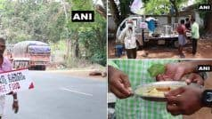 Coronavirus, Lockdown: रोड पर भूखे वाहन चालकों को खिला रहे खाना ये दो ड्राइवर