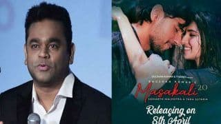 AR Rahman Not Happy With Recreation of His Classic Rendition, Gracefully Slams Masakkali 2.0