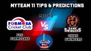 FCC vs Swingers MyTeam11 Team Prediction Cricket Taipei T10 League Captain And Vice Captain Fantasy Cricket Tips at 1:00 PM IST
