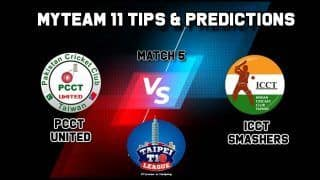 PCCT vs ICCT MyTeam11 Team Prediction Today, Taipei T10 League: Captain And Vice-Captain, Fantasy Cricket Tips, Yingfeng Ground, TPE, 11:00 AM IST