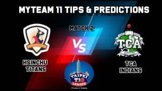 Titans vs TCA MyTeam11 Team Prediction Cricket Taipei T10 League Captain And Vice Captain Fantasy Cricket Tips at 11:00 AM IST