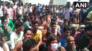 Demanding Payment, Restless Migrant Workers Stage Protest at IIT Hyderabad, Injure Policemen
