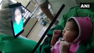 Coronavirus+ Woman Gives Birth in Aurangabad Hospital, Staff Arranges Video Call For Mother, Baby