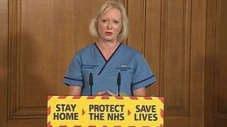 UK's Chief Nurse Makes Emotional Speech Asking People to Stay Inside For Aimee And Areema, Nurses Who Died From Coronavirus
