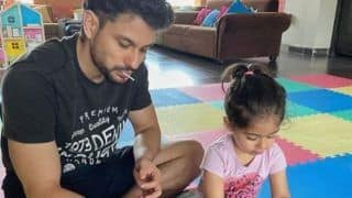 Inaaya Helps Daddy Kunal Kemmu And Mommy Soha Ali Khan in Household Work And It's The Best Thing on Internet Today