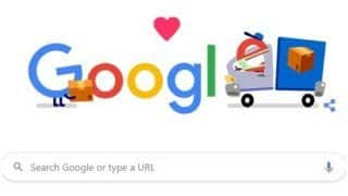 Google Thanks Packaging, Shipping And Delivery Workers With a Doodle