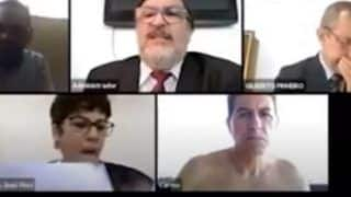 Brazilian Judge Appears Shirtless in Court Hearing During Work From Home, Video Goes Viral | Watch