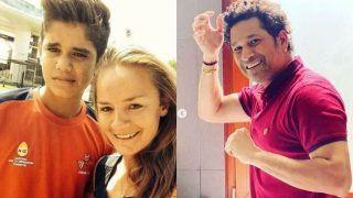 Danielle Wyatt Takes a Funny Dig at Sachin Tendulkar's Son Arjun as India Legend Gives Himself New Haircut Amid Coronavirus Lockdown | POST