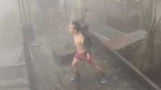 Viral Video: Mizoram Man Dances to Michael Jackson's 'Thriller' in Midst of Rainstorm on The Roof