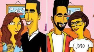 अर्जुन कपूर के बाद ये सितारें हो गए The Simpsons की दुनिया में शामिल, फोटो शेयर कर कही ये बात