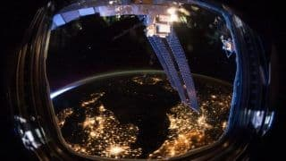 Trending News Today April 24, 2020: NASA Shares Stunning Night View of Earth Through Fisheye Lens, Beauty of The Planet Will Leave You Mesmerised