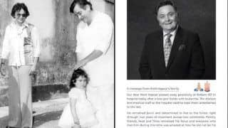 Karisma Kapoor's Priceless Throwback Picture With Rishi Kapoor is One of The Rich Tributes to The Actor