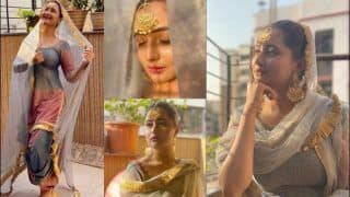Rashami Desai Redefines Indian Beauty With Her Drop-Dead Gorgeous Look on Ram Navami, Pictures go Viral