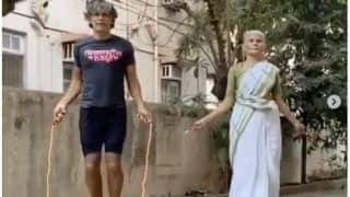 Milind Soman Learns Skipping From 81-Year-Old Mother, Video Proves Age Is Just Number
