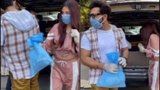 Bigg Boss 13 Rumoured Couple Mahira Sharma-Paras Chhabra Step Out in Mumbai to Distribute Food, Video Goes Viral