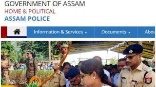असम पुलिस में जूनियर असिस्टेंट और स्टेनोग्राफर के पदों पर निकली वैकेंसी, लॉकडाउन के बाद कर सकते हैं अप्लाई