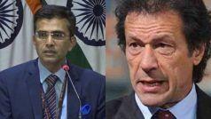 भारत ने जम्मू-कश्मीर के अधिवास नियमों पर टिप्पणी करने के लिए इमरान खान पर साधा निशाना