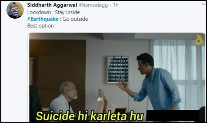 Suicide He Kar Lein Confused Netizens Ask After 3 5 Magnitude