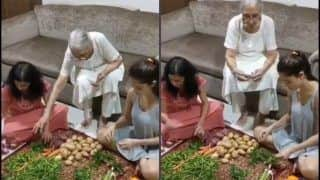 Nushrat Bharucha's Family Time Amid COVID-19 Quarantine Gets 'Kahaani Ghar Ghar Ki' Twist | Watch