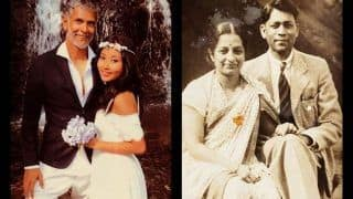 Milind Soman Shares Vintage Picture of Grandparents' Wedding, Compares it to His '80 Years Apart' With Ankita Konwar