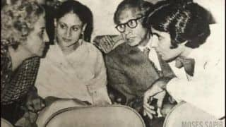 Amitabh Bachchan Shares Iconic Moment From Premiere of Sholay in 1975, Gushes Over Jaya Bachchan in Monochromic Picture