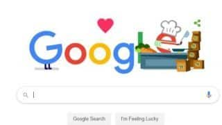 Google Thanks Food Service Workers With a Doodle