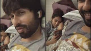 Shahid Kapoor's Lazy Flirting With Wife Mira Rajput Makes Fans Double Down With Laughter | Watch