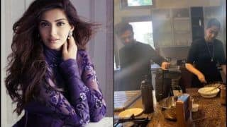 Sonam Kapoor Ahuja Paints Fans Quarantine Blues Lavender With Stunning Throwback Picture, Turns Chef Alongside Anand Ahuja