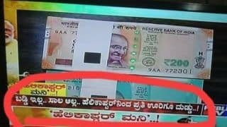 Kannada TV Channel Falsely Claims 'Modi Govt Will Rain Money From Helicopters', Slapped Notice