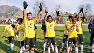 Real Kashmir FC Distribute Essential Equipment In Fight Against COVID-19
